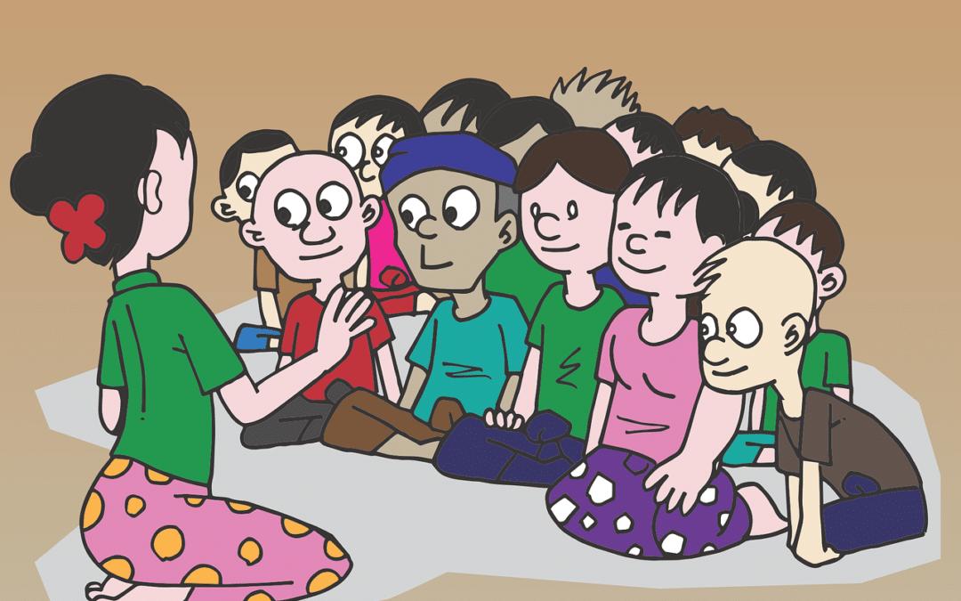4 exemples de rituels à mettre en place pour une séance de motricité avec les maternelles :-)