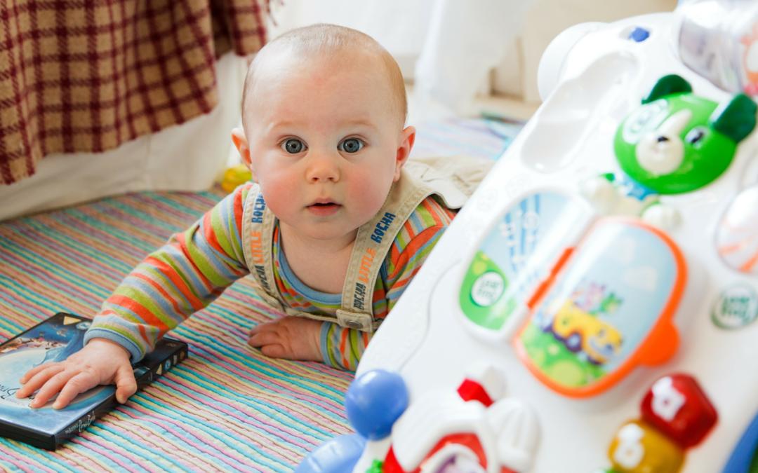 10 idées d'activités à faire avec un enfant de 6 mois :-)